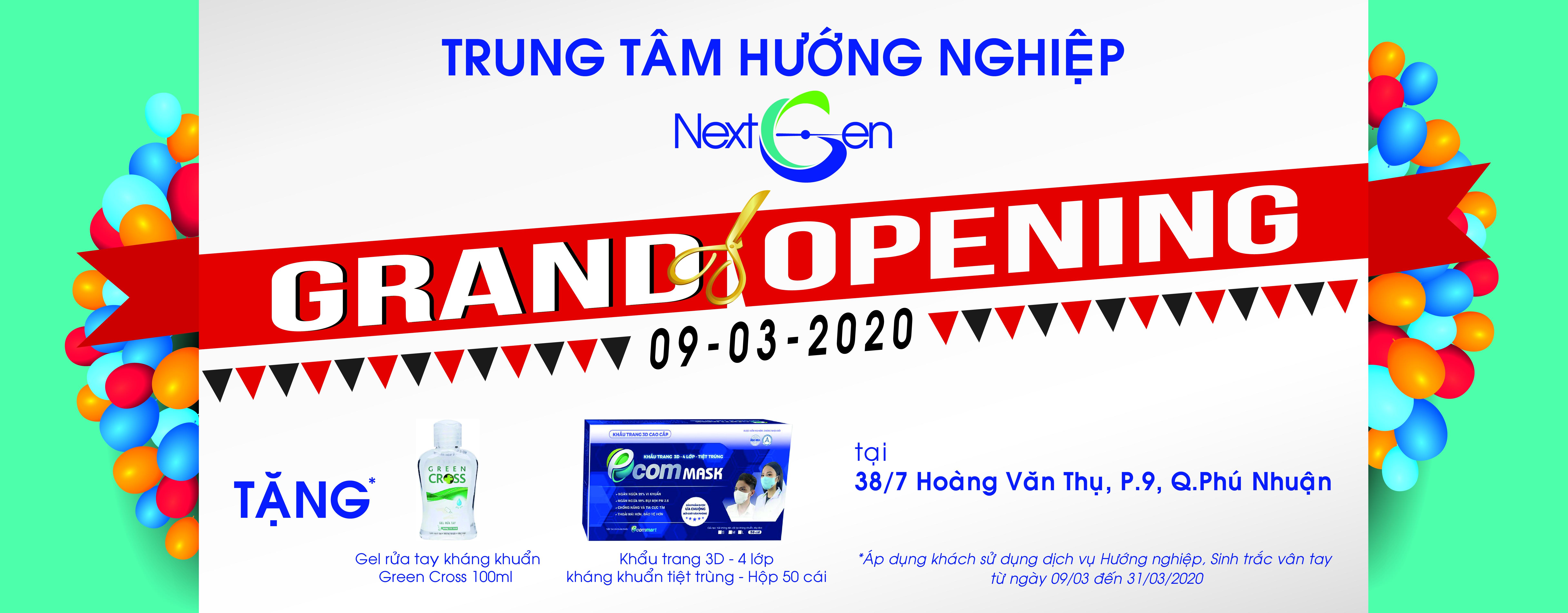 Khai truong Trung tâm Hướng nghiệp NextGen