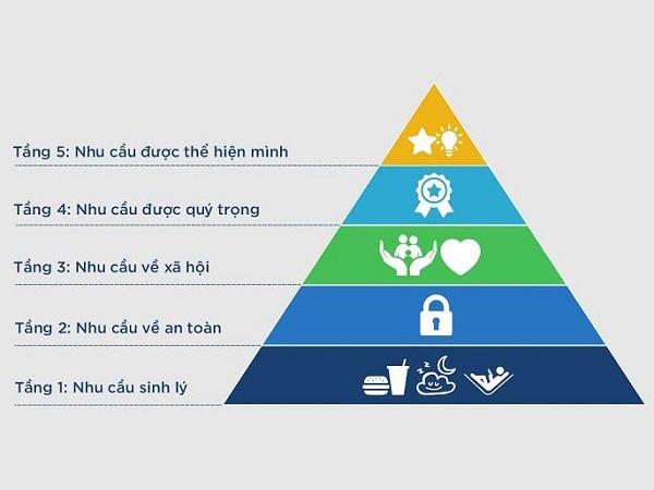 Ứng dụng tháp nhu cầu Maslow vào lĩnh vực hướng nghiệp
