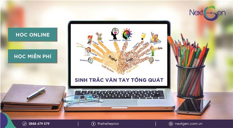 Sinh trắc vân tay online